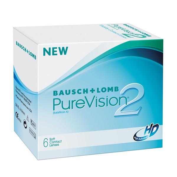 Контактные линзы Pure Vision 2 HD