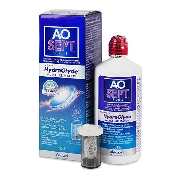 Пероксидная система очистки AOSEPT PLUS 360 мл